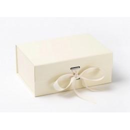 Pudełko ozdobne M - ecru
