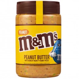 M&M' s masło orzechowe...