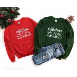 Świąteczne bluzy 2 MR&MRS -...