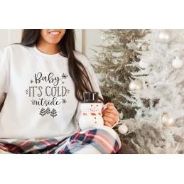 Świąteczna bluza  BABY IS...