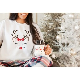 Świąteczna bluza renifer