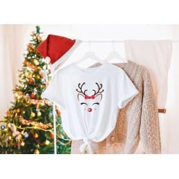 Koszulka świąteczna renifer