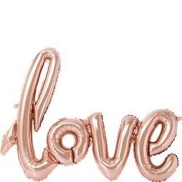 """Balon """"LOVE"""" w kolorze..."""
