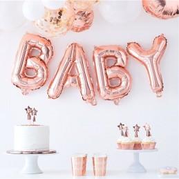 """Napis """"Baby"""" w kolorze..."""