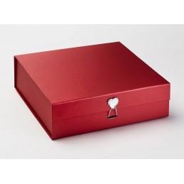 Pudełko XL czerwone z...